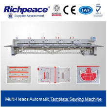 Computerized Automatic High Speed Template Clothing Pattern Sewing Machine