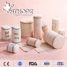 Einweg-Verbandsmaterial aus elastischem Kreppband