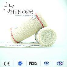 Elastische Baumwolle Spandex Crepe Bandage mit CE FDA ISO
