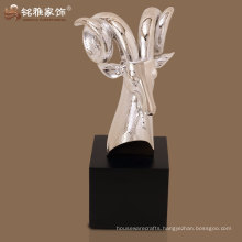 home interior decoration high quality antelope sculpture at best rate