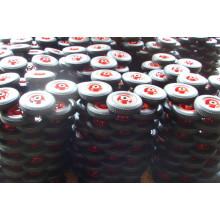 Roda de borracha (8 x 2)