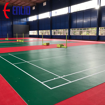 Enlio Badminton Court Mat Pvc Badminton Court
