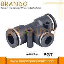 Conexiones de empuje del reductor neumático del reductor neumático de la unión de PGT