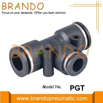 PGT Union Tee Pneumatic Reducer Push In Fittings