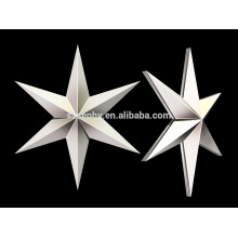 Promotion 11 cm Plastic Christmas hanging star decoration