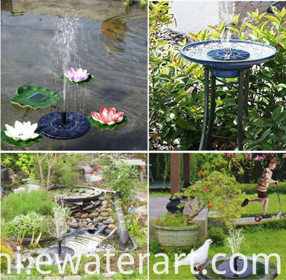 Solar Water Feature