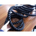 Polyester rope Battle ropes gym equipment rope