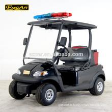 EXCAR 2 places golf électrique chariot golf buggy voiture chine club golf chariot avec extincteur