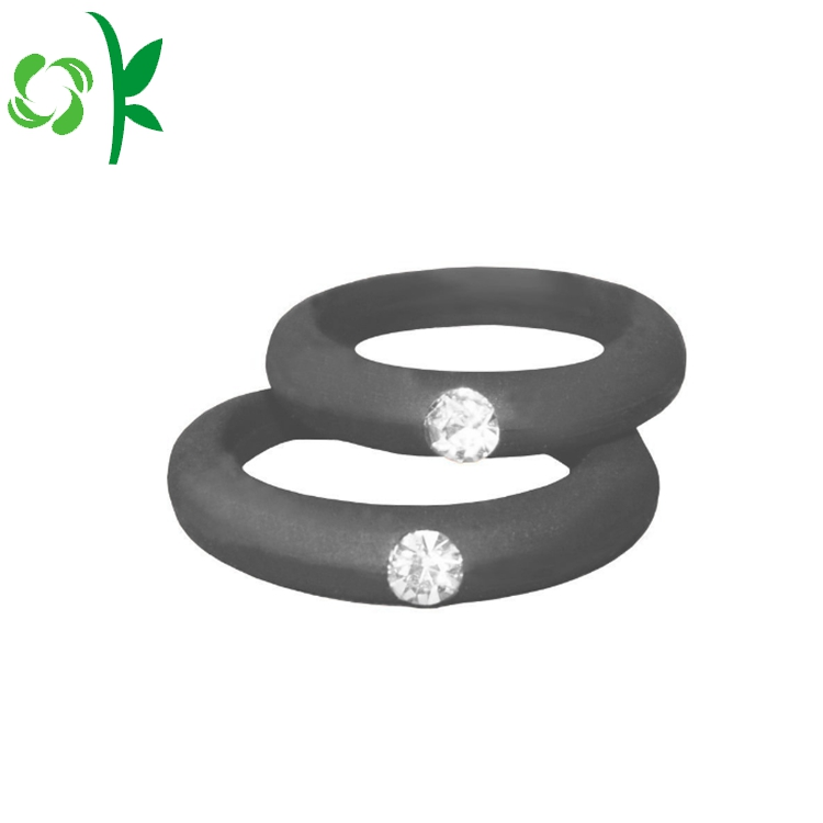 Daimond Silicone Rings
