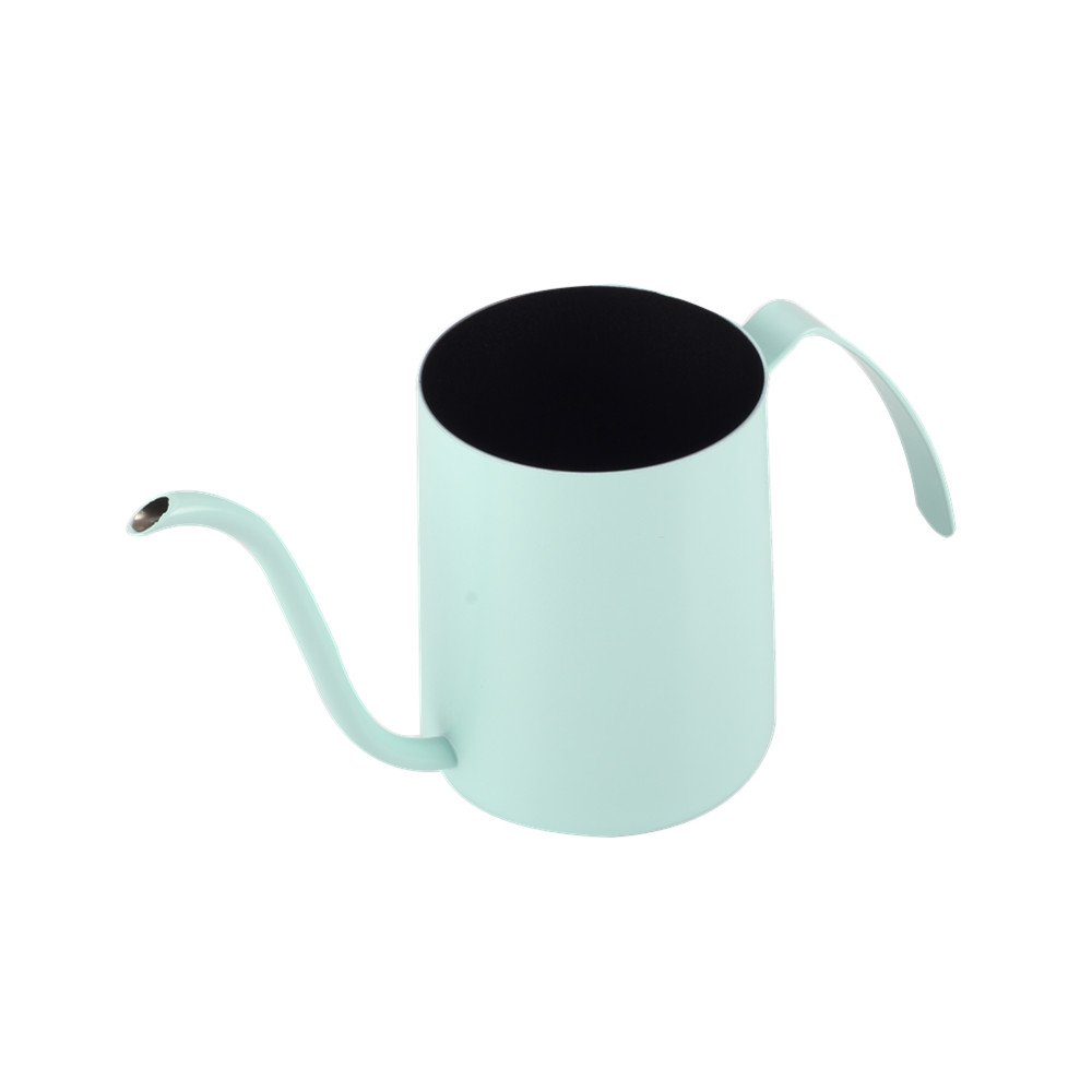 Food Grade Stainless Steel Mint Green Pour Over Coffee Kettle