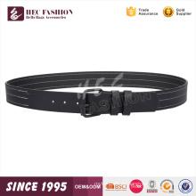 HEC 2018 Wenzhou Designer Günstige Schwarz Weiß Streifen Durable Pu Ledergürtel