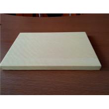 Paneles de panal de aluminio de color madera