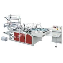 Seitlicher Dichtungs-Hitze-Ausschnitt-Plastik-Polyäthylen-Beutel, der Maschine herstellt