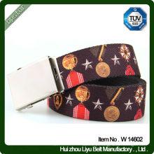 Cintos coloridos de cintura de algodão para mulheres com padrão