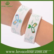 Factory Custom silicone wristband for Comic-con free design