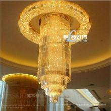 Lustre de lobby d'hôtel fait en Chine