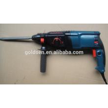 26 milímetros 800w máquina de perfuração giratória portátil elétrica do martelo máquina de perfuração Handheld do formão do martelo do poder