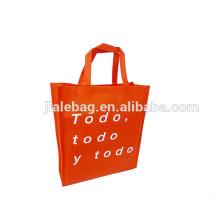 Piping fashion non woven shopping bag