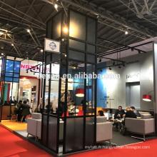 Detian offre stand d'exposition modulaire portable créatif 20x20 pour le commerce équitable
