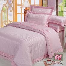 100% algodón jacquard estilo tela 300tc 60x40 / 173x120 satén de diseño caliente