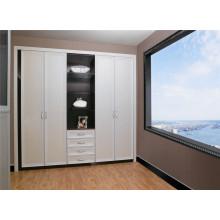 2016 para el armario del armario de la puerta del oscilación del armario del dormitorio del proyecto