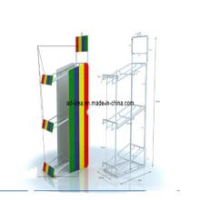 Metal Display Rack, Metal Flooring Display Stand, Metal Rack (AD-130509)