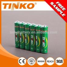 4pcs/shrink 60pcs/boîtier de piles de AAA R03 OEM lourds