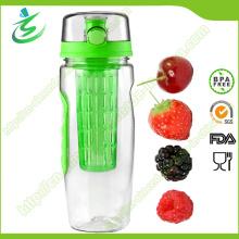 Bouteille d'eau infuseur de fruits de haute qualité de 32 Oz, sans BPA
