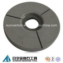 Enlace de la resina Buff disco de pulido de granito de la losa