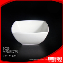 comprar a granel de china porcelana vajilla blanca ensaladera
