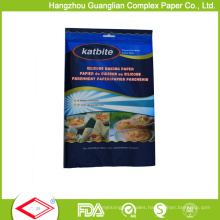 Retail Supply Fold Baking Parchment Paper Set in Poly Bags