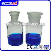 JOAN LAB Glassware Reagent Bottle Clear Wide Boca Garrafas de vidro