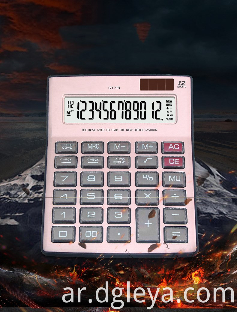 12 Digits desktop Electronic calculator
