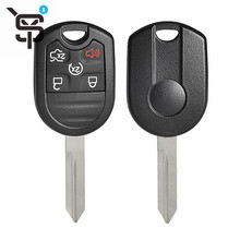 Best price car key shell for Ford transponder key shell car key cover 5 button