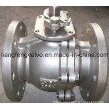 150LB Flange End Stainless Steel Ball Valve