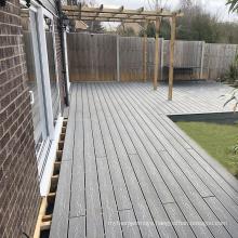3D wood grain non-slip wood-plastic co-extruded laminate flooring