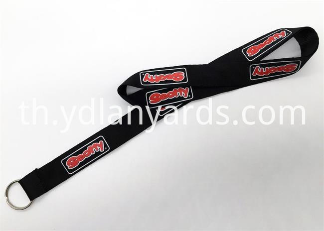 Promotion Silk Screen Lanyards