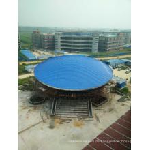 China Vorgefertigte Stahl Sturage Raumrahmen Dach