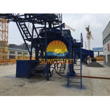 Hoher Leistungsfähigkeits-Rotor-zentrifugaler Zerkleinerungs-Sand-Hersteller für das Zerquetschen des Felsen-Steins