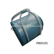 saco cosmético de couro com 4 bandejas removíveis para dentro e com opções de cores diferentes