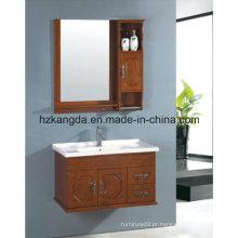 Armário de banheiro de madeira maciça / vaidade de banheiro de madeira maciça (KD-447)