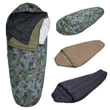 Outdoor Camping Mummy Leichte Armee Schlafsack