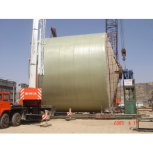 FRP Large Tank Winded at Site