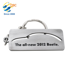 Promotional China style Anniversary Metal Custom Keychain