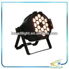 Quadwäsche 18 x 8w LED PAR RGBW