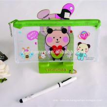 Maßgeschneiderte Werbegeschenk klar Bleistift Tasche
