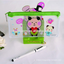 Customized promotional gift clear pencil bag