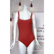 Latest Design Ladies Lace Suspenders Jumpsuit