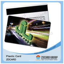 Пластиковая карта штрих-кодов VIP-карта с магнитной картой