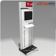 MDF+Wooden+Display+Stand+with+Promotion+TV